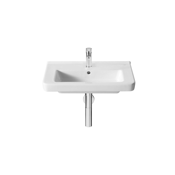 Roca Dama-N Compact 600x320mm 1 Tap Hole Wall Mounted Basin-0