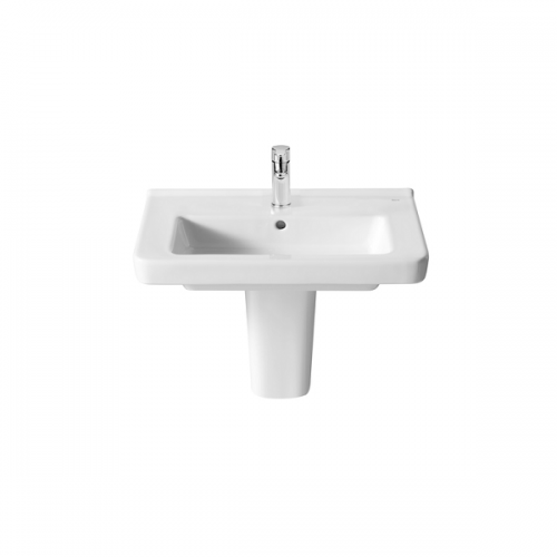 Roca Dama-N Compact 600x320mm 1 Tap Hole Wall Mounted Basin-18380