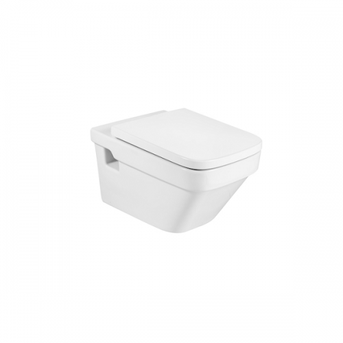 Roca Dama-N 570mm Projection Wall Hung Pan and Seat-0