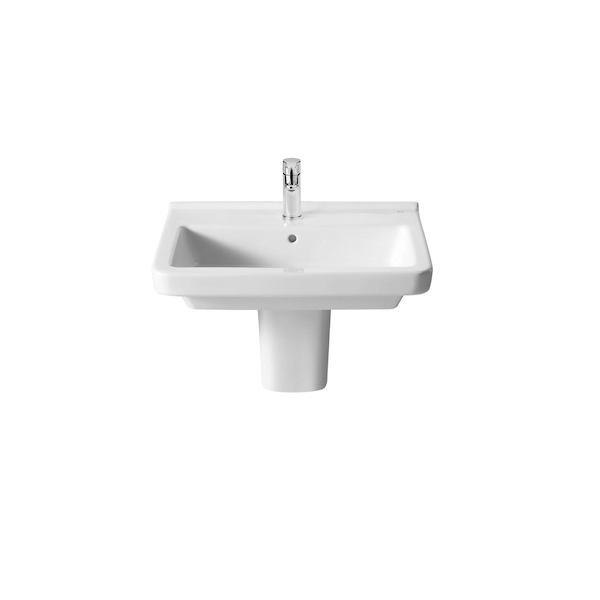 Roca Dama-N 550 x 460mm 1 Tap Hole Wall Mounted Basin-18372