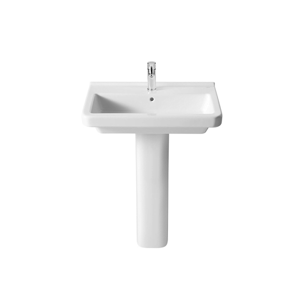 Roca Dama-N 650 x 460mm 1 Tap Hole Wall Mounted Basin-18332