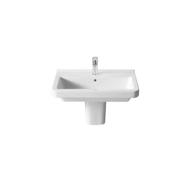 Roca Dama-N 650 x 460mm 1 Tap Hole Wall Mounted Basin-18331