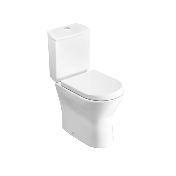Roca Nexo Compact 615mm Projection Close Coupled Toilet-0