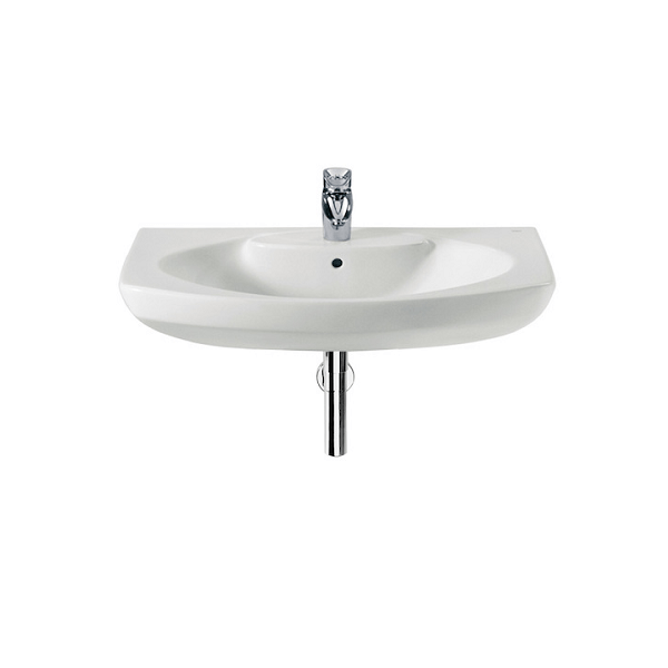Roca Senso Wall Mounted 800 x 530mm 1 Tap Hole Basin-0