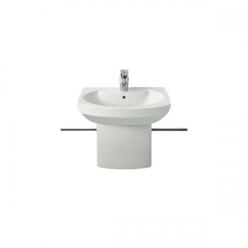 Roca Senso Compact 550x420mm 1 Tap Hole Cloakroom Basin-0