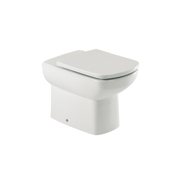 Roca Senso Compact 555mm Projection Back to Wall Pan and Seat-0