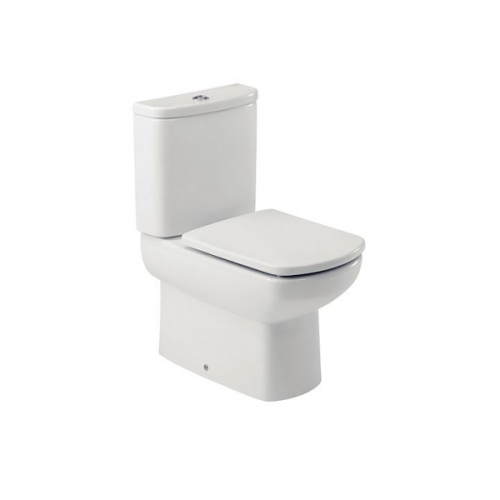 Roca Senso Compact Close Coupled Complete WC and Seat-0