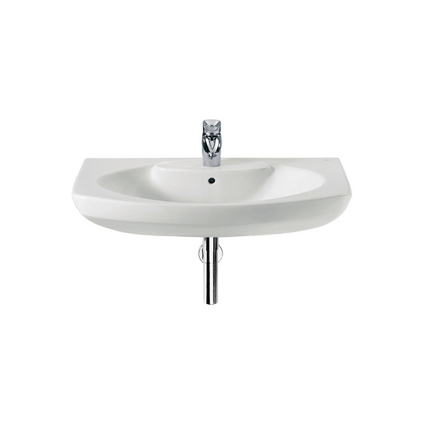 Roca Senso Wall Mounted 580 x 460mm 1 Tap Hole Basin-0