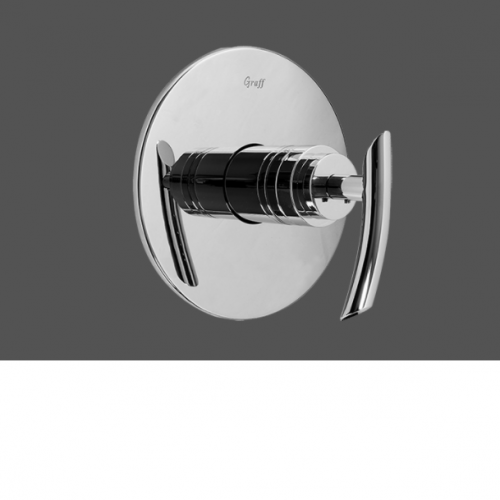"""Graff Tranquility Polished Chrome 1/2"""" Concealed Thermostatic Valve - Exposed Parts"""