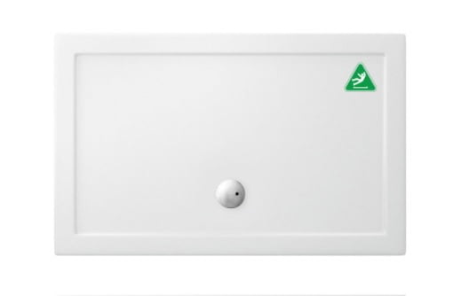 Crosswater 1400mm x 900mm Anti Slip Walk In Shower Tray GPWK91400