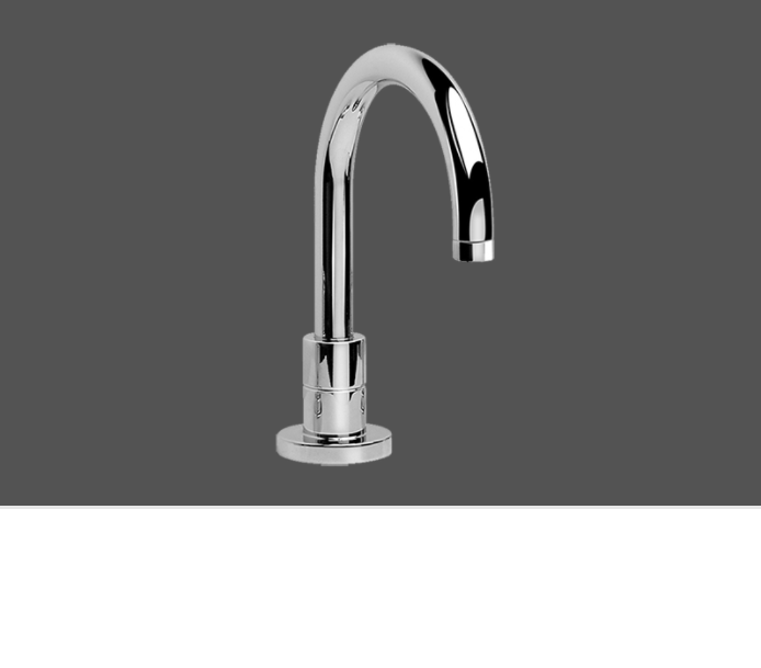 Graff Tranquility Polished Chrome Deck Mounted Washbasin Spout