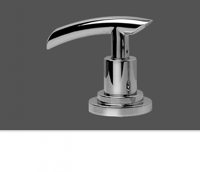 Graff Tranquility Polished Chrome Deck Mounted Bathtub Valve - Counter Clockwise Opening