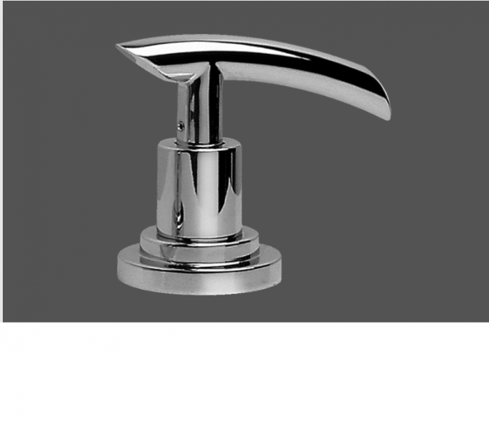 Graff Tranquility Polished Chrome Deck Mounted Bathtub Valve - Clockwise Opening