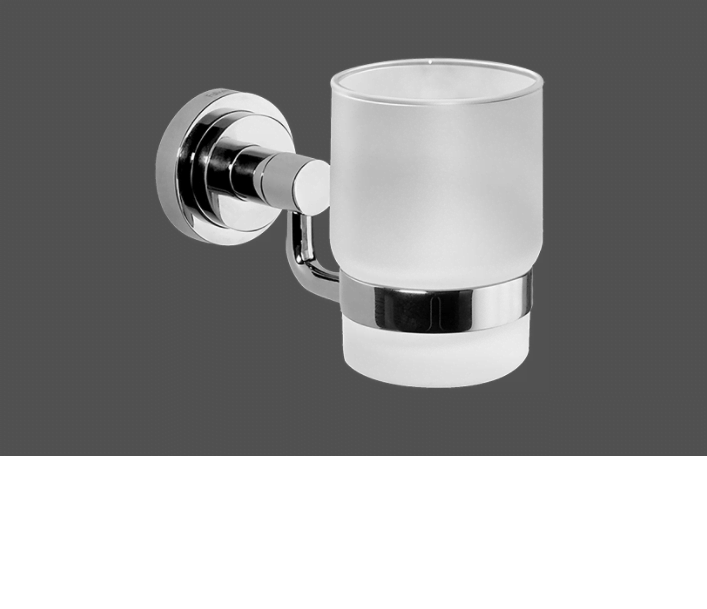 Graff ME25 Polished Chrome Tumbler Holder