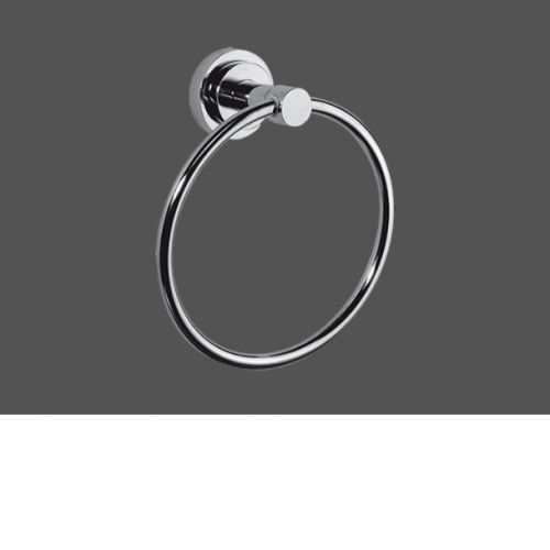 Graff ME25 Polished Chrome Towel Ring