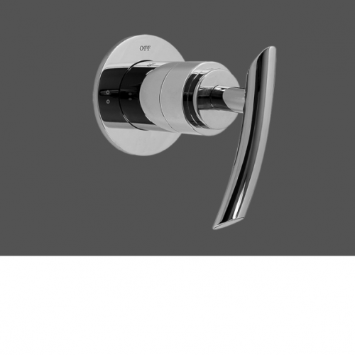 """Graff Tranquility Polished Chrome 1/2"""" Concealed Diverter with 2 Outlets - Exposed Parts"""