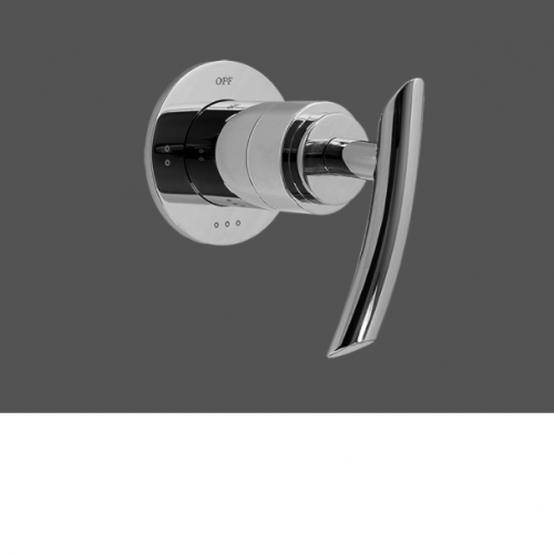 """Graff Tranquility Polished Chrome 1/2"""" Concealed Diverter with 3 Outlets - Exposed Parts"""