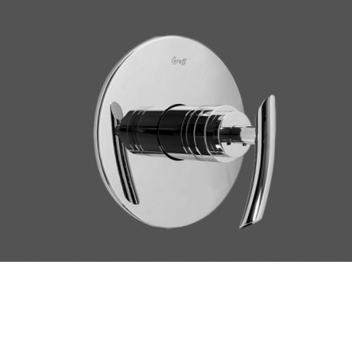 """Graff Tranquility Polished Chrome 3/4"""" Concealed Thermostatic Valve - Exposed Parts"""