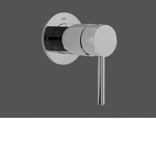"""Graff ME25 Polished Chrome 1/2"""" Concealed Diverter With 2 Outlets - Exposed Parts"""