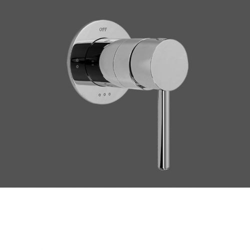 """Graff ME25 Polished Chrome 1/2"""" Concealed Diverter With 3 Outlets - Exposed Parts"""