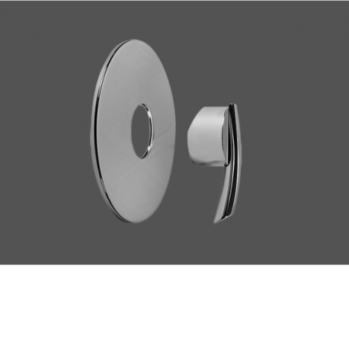 """Graff Tranquility Polished Chrome Concealed Shower Mixer 1/2"""" - Exposed Parts"""