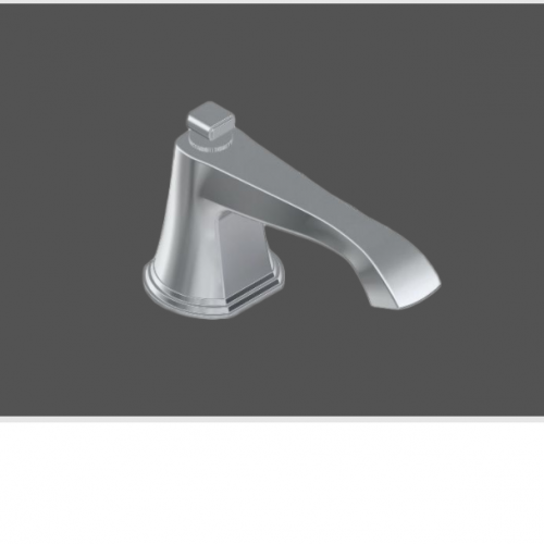 Graff Finezza Uno Polished Chrome American Style Deck Mounted Washbasin Spout