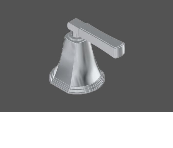 Graff Finezza Uno Polished Chrome American Style Deck Mounted Basin Valve - Clockwise Opening