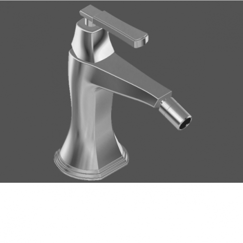 Graff Finezza Uno Polished Chrome American Style Single Lever Bidet Mixer
