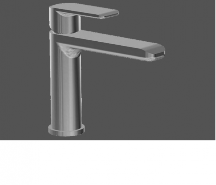 Graff Java Polished Chrome Single Lever Basin Mixer - 12.6cm Spout No Waste