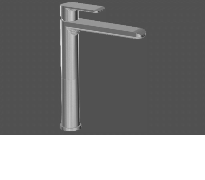 Graff Java Polished Chrome Single Lever Basin Mixer - 14.5cm Spout
