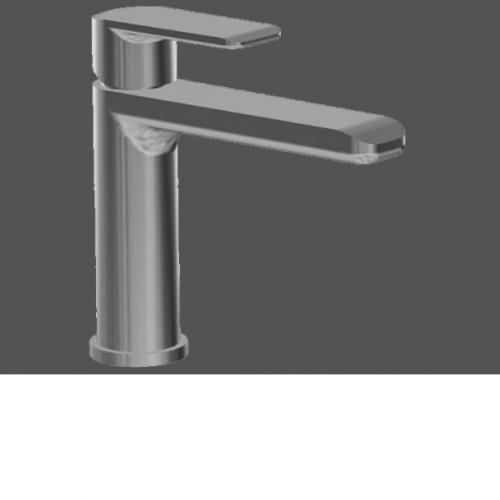 Graff Java Polished Chrome Single Lever Basin Mixer - 12.6cm Spout