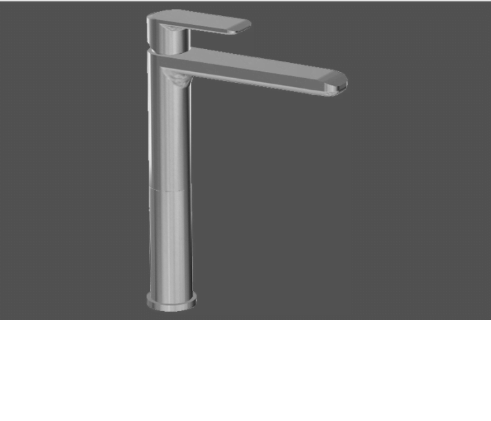 Graff Java Polished Chrome Single Lever Basin Mixer - 14.5cm Spout with Pop Up Waste
