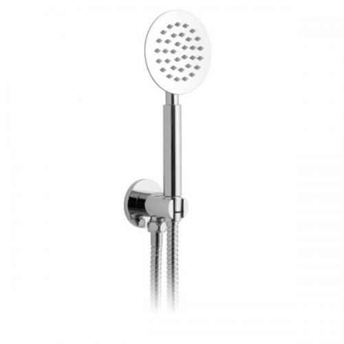 Vado Aquablade Wall Mounted Round Mini Shower With Outlet-0