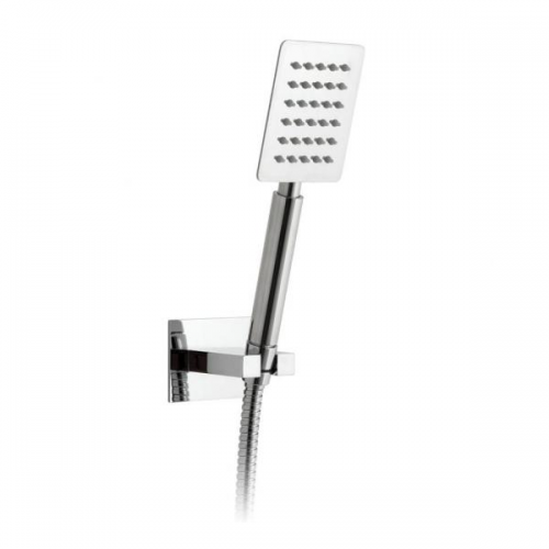 Vado Aquablade Chrome Square Mini Shower Handset Kit-0