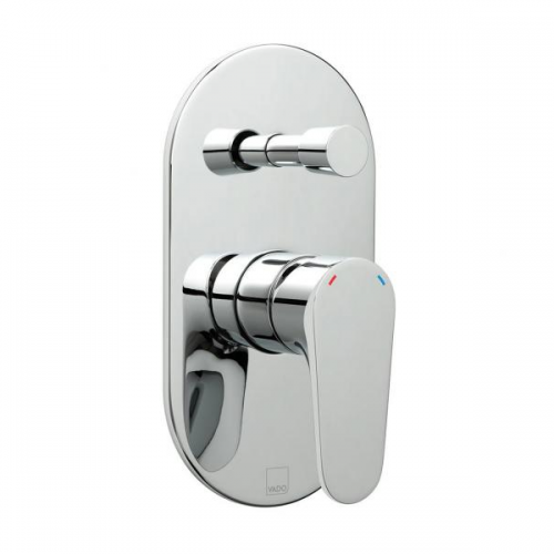 Vado Ascent Concealed Manual Shower Valve With Diverter-0