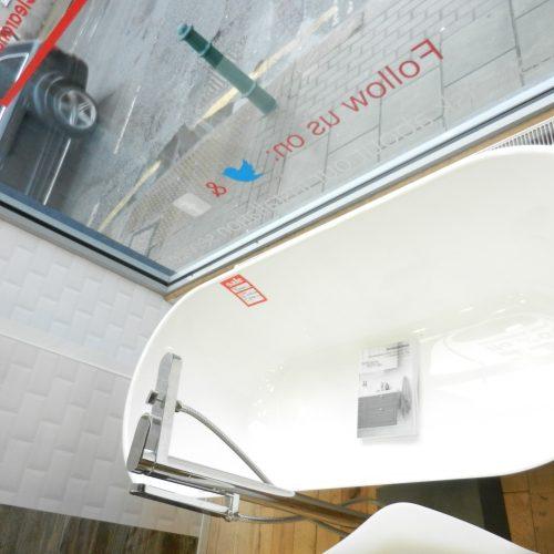 Svedbergs Oval 170 Cast Marble Freestanding Bath