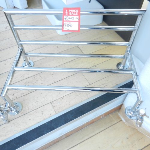 Traditional Heated Towel Rail Shelf 64cm