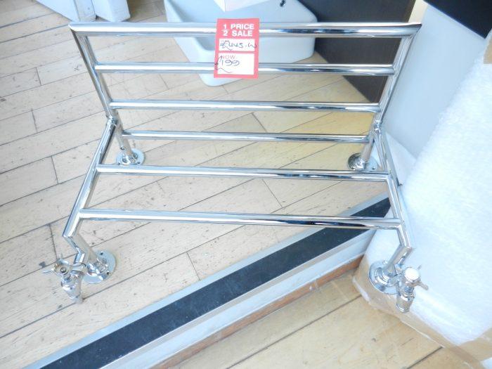 Traditional Heated Towel Rail Shelf 64cm
