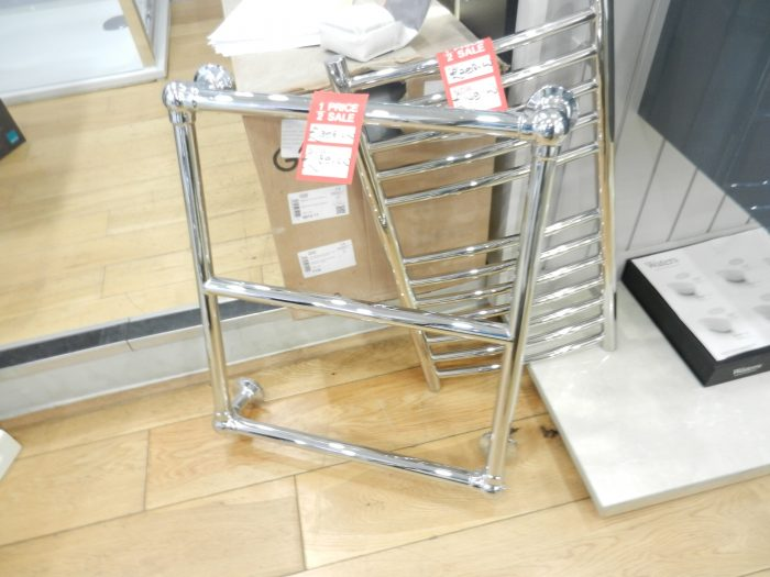 Ex Display Traditional Heated Towel Rail 560 x 640mm