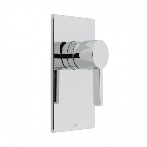 Vado Edit Chrome Single Lever Concealed Manual Shower Valve-0