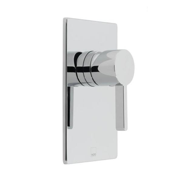 Vado Edit Chrome Single Lever Concealed Manual Shower Valve-0