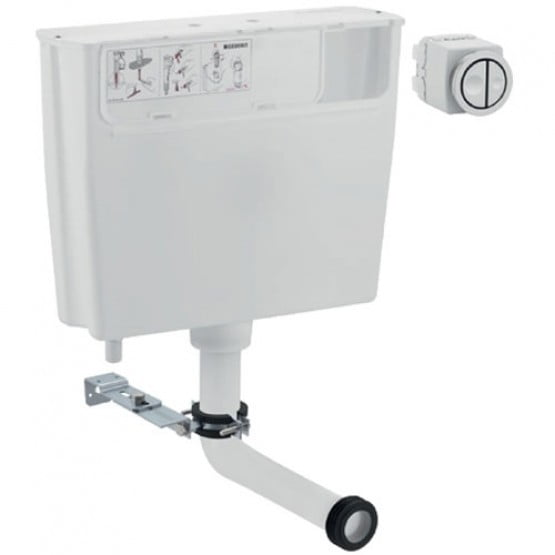 Stock Geberit Type 01 Low Height Furniture Cistern 6/3i Dual Flush-0