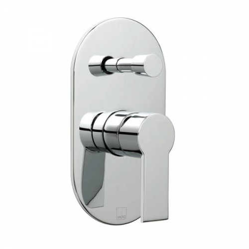 Vado Ion Concealed Manual Shower Valve With Diverter-0