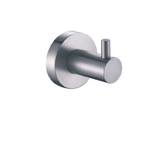 Just Taps Inox stainless steel single robe hook IX191