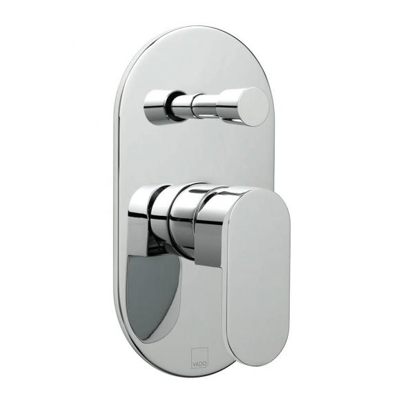 Vado Life Concealed Manual Shower Valve With Diverter-0