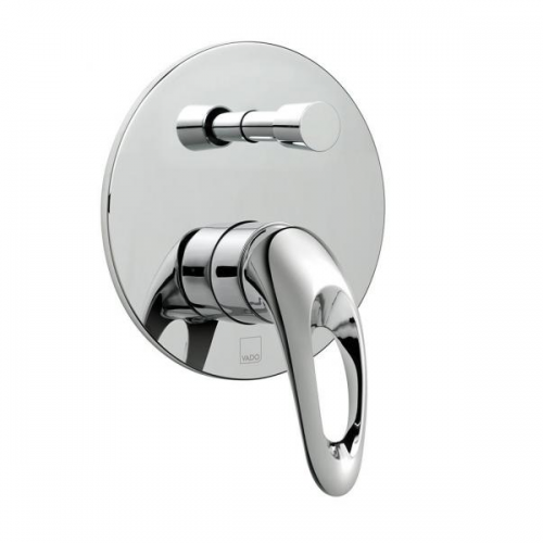 Vado Magma Concealed Manual Shower Valve With Diverter-0