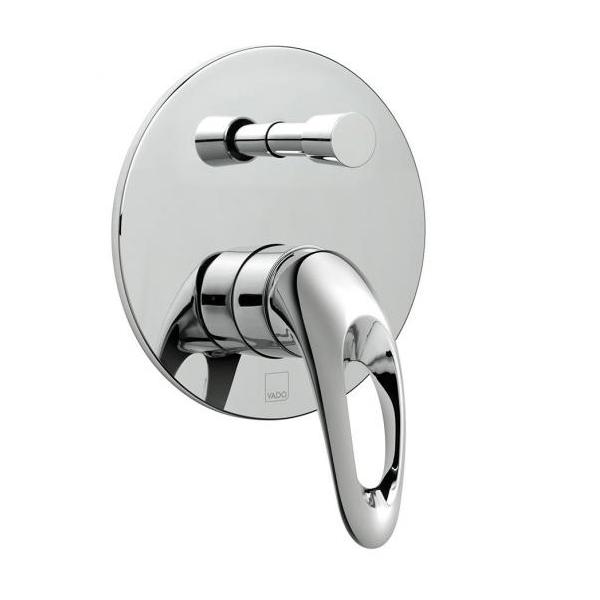 Vado Magma Concealed Manual Shower Valve With Diverter-0