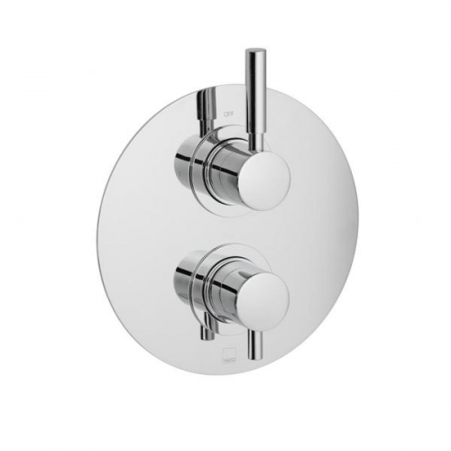 Vado Origins 1 Outlet 2 Handle Concealed Thermostatic Shower Valve-0