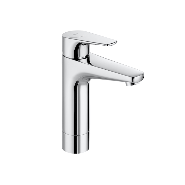 Roca Atlas 218mm Smooth Body Medium Height Plus Basin mixer-0