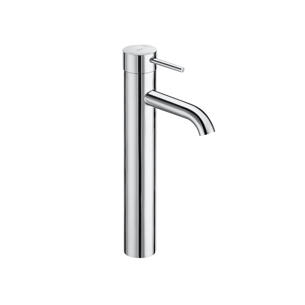 Roca Lanta 312mm Tall Extended Smooth Bodied Basin Mixer-0